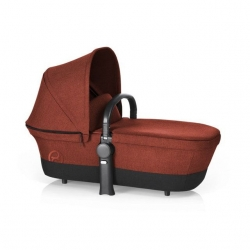 Корзина Priam Carry Cot RB/Autumn Gold-burnt red (дощовик + бампер)