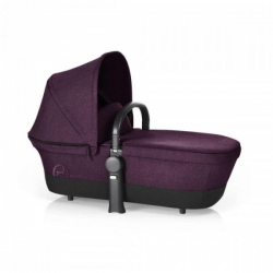 Корзина Priam Carry Cot RB/Mystic Pink-purple (дощовик + бампер)