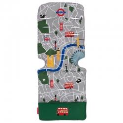 Матрац універсальний д/коляски, London City Map