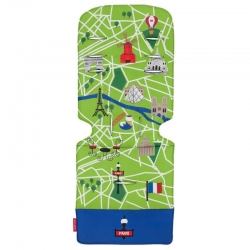 Матрац універсальний д/коляски, Paris City Map