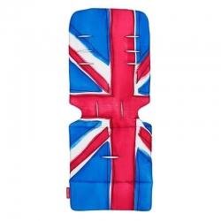 Матрац універсальний д/коляски, Union Jack Princess Blue,...