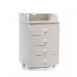 Комод пеленатор 600 білий