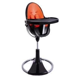Стільчик FRESCO chrome black/harvest orange