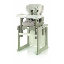 Стільчик для годування ACTIVA EVO, колір Tangram-II, сірий