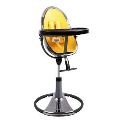 Стільчик для годування Fresco titanium / canary yellow