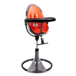 Стільчик для годування Fresco titanium / harvest orange