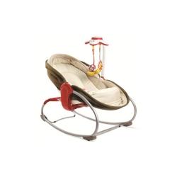 Крісло-ліжечко-гойдалка 3в1 «Мамина любов» коричневе
