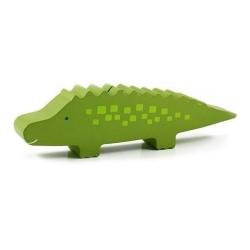 Скарбничка дерев'яна «Крокодил»