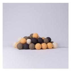 Гірлянда Cottonballlights 20 кульок Clay