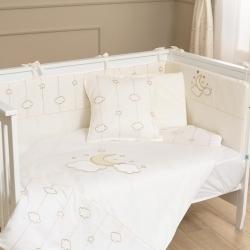 Комплект для дитячого ліжечка LUNA ELEGANT 7 предметів