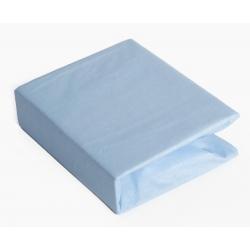 Простирадло Twins на резинці для круглого ліжка 120/60 blue