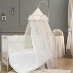Балдахін для ліжечка WHITE (Белый)
