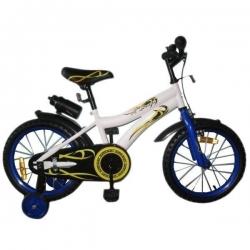 Велосипед двоколісний Swallow – WHITE with Blue