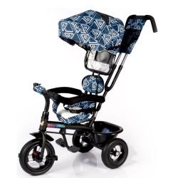 Велосипед триколісний Kids Tour – White blue