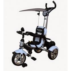 Велосипед 3-х колісний Mars Trike надувні (білий) без...