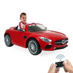 Електромобіль INJUSA Mercedes AMG na Akumulator CABRIO + Pilot