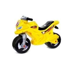 Мотоцикл для катання 2-х колісний лимонний Оріон