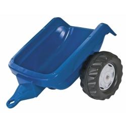 Причіп на 2х колесах Rolly Toys rollyKid Trailer синій
