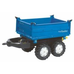 Причіп на 4х колесах Rolly Toys rollyMega Trailer синій