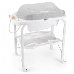 Столик для пеленання CAMBIO, колір сірий