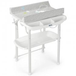 Столик для пеленання AQUA SPA, колір сірий