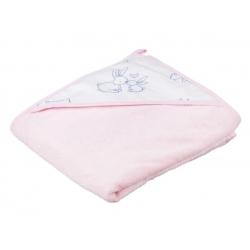 Полотенце KR-008 Kroliczki 100/100 pink