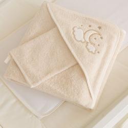 Комплект банний для новонародженого Luna Elegant