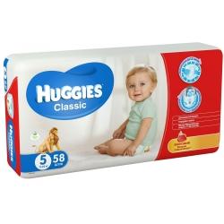 Підгузники Huggies Classic 5 (11-25кг) 58 шт.