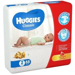 Підгузники Huggies Classic 2 (3-6кг) 88 шт. /Huggies/