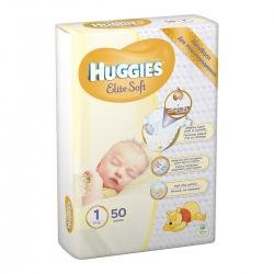 Підгузники дитячі Elite Soft 1 (2-5кг) 50 шт.