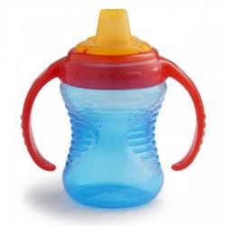 Пляшка непроливна «Deco Trainer», 237 мл. (блакитна)