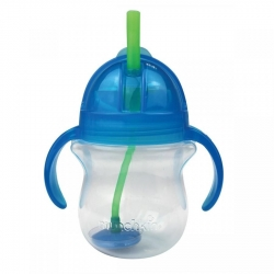 Пляшка непроливна «Tip & Sip», 207 мл. (блакитна)