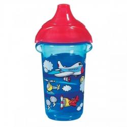 Пляшка непроливна «Deco Sippy», 266 мл. (блакитна)