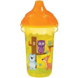 Пляшка непроливна «Deco Sippy», 266 мл. (жовта)