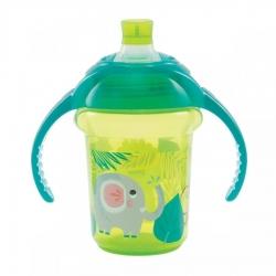 Пляшка непроливна «Deco Trainer», 207 мл. (зелена)