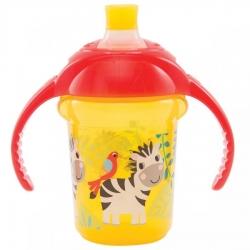 Пляшка непроливна «Deco Trainer», 207 мл. (жовта)