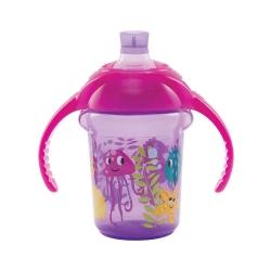 Пляшка непроливна «Deco Trainer», 207 мл. (фіолетова)