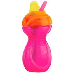 Пляшка непроливна «Flip Straw» 296 мл. від 12 місяців...