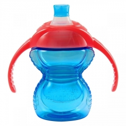 Пляшка непроливна «Chew Proof», 207 мл. (блакитна)