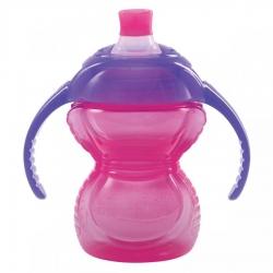 Пляшка непроливна «Chew Proof», 207 мл. (рожева)