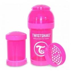 Пляшечка антиколікова 180 мл, рожева