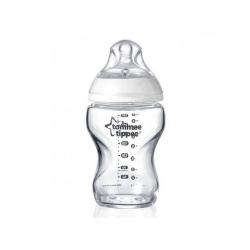 Бутылочка скляна 250 мл. (от 0 мес.)