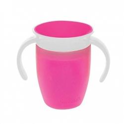 Чашка непроливна «Miracle 360», 207 мл. (рожева)