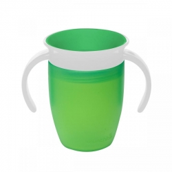 Чашка непроливна «Miracle 360», 207 мл. (зелена)
