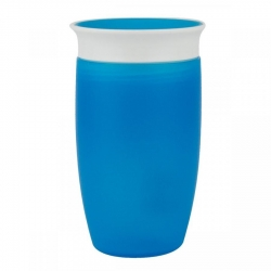 Чашка непроливна «Miracle 360», 296 мл. (блакитна)