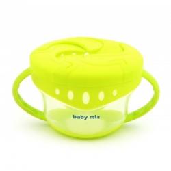 Тарілка для перекусів Baby Mix RA-D4-0410 green