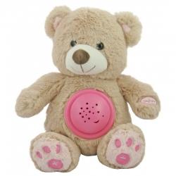 Проектор музичний Ведмедик з лампою STK-18956 Pink