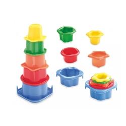Набір тарілок для гри в воді і піску Baby Mix S193BC