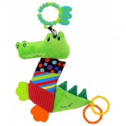 Іграшка плюшева з кліпсою Крокодил TE-8567-33