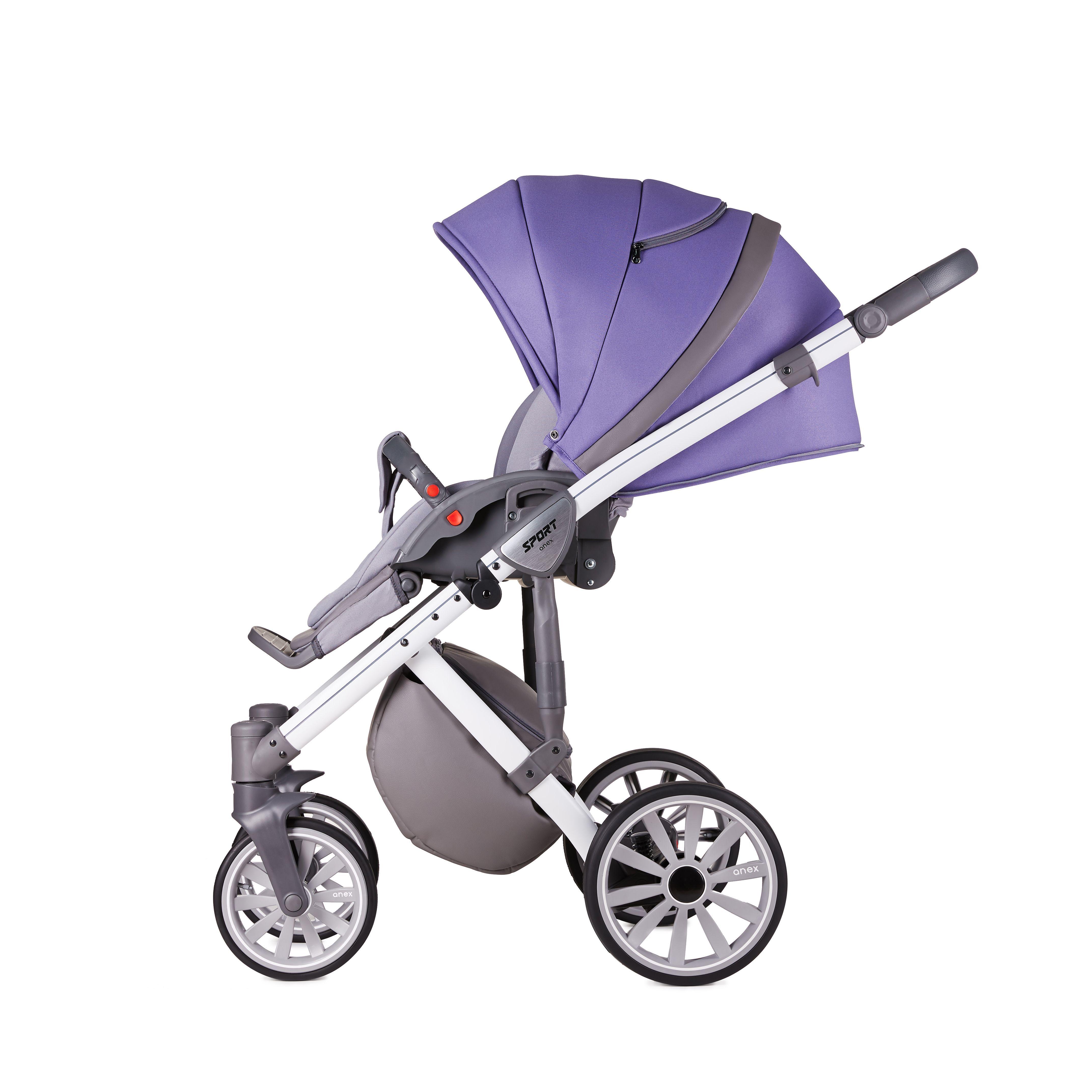 Коляска Anex Sport 2в1 / ultra violet